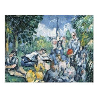 Dejeuner sur l'herbe, 1876-77 postcard