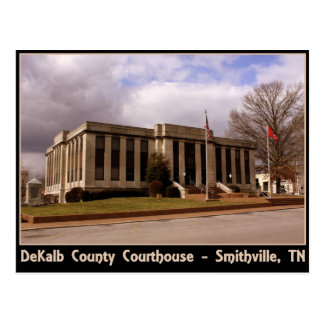 DeKalb County Courthouse - Smithville, TN Postcard