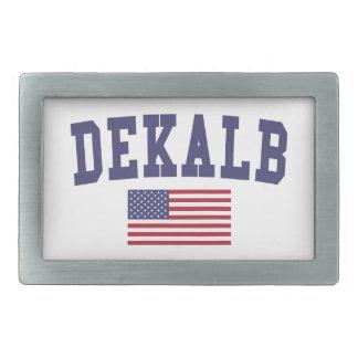 DeKalb US Flag Belt Buckle