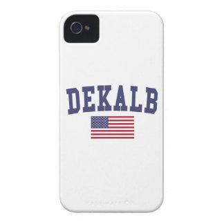DeKalb US Flag Case-Mate iPhone 4 Cases