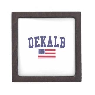 DeKalb US Flag Gift Box