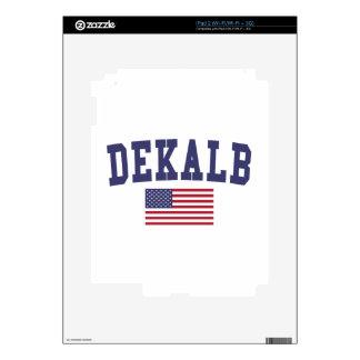 DeKalb US Flag iPad 2 Skin
