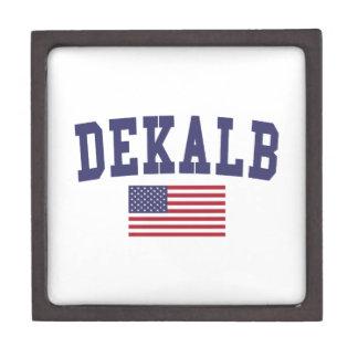 DeKalb US Flag Jewelry Box