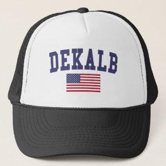 DeKalb US Flag Trucker Hat