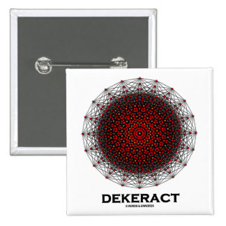 Dekerat (10-Dimensional Hypercube) Pin