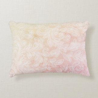 Deko cushion Impression yellow rose Zierkissen