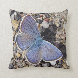 Dekokissen blue butterfly throw pillow