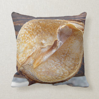 Dekokissen cáscara de castaño cojin
