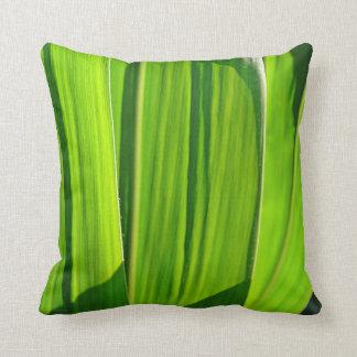 Dekokissen green corn sheets with shade pillow