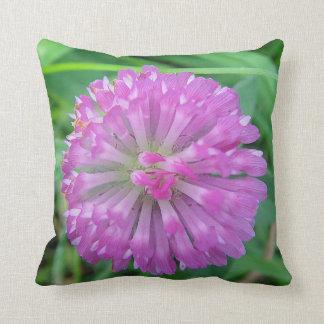 Dekokissen Kleeblüte in pink Pillow
