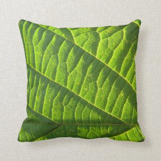 Dekokissen modelo genial, verde de hoja, cojin