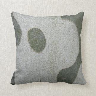 Dekokissen modelo graugrünes verde gris almohadas