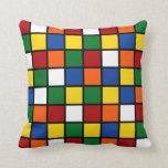 Dekokissen Rubik's Cube/Magic Cube Throw Pillow