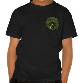 del 第 303 303o TFS remiendo de la escuadrilla del T-shirts