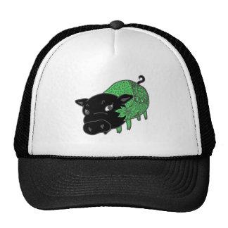 。 del 黒豚の名前はチェルシー del、 del カレーの大好きなcerdo negro gorro de camionero