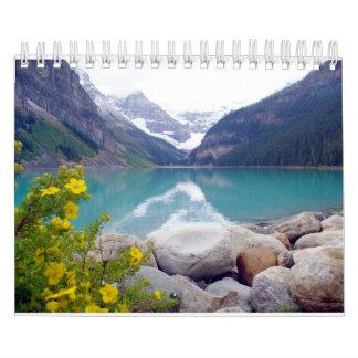 Del 08 de agosto al 09 de julio calendario de pared
