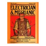 "Del ""1913 postal de Febrero-ElectricianandMechanic"