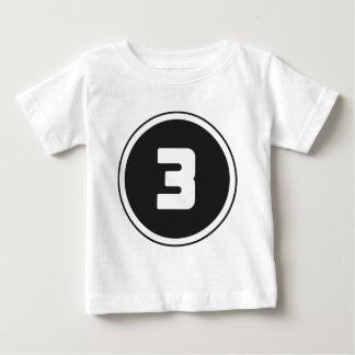 ## del ## 3 camisas