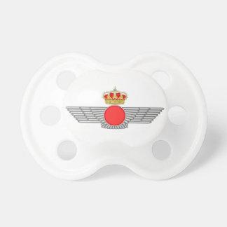 Del Aire de España del EL Ejército Chupetes Para Bebés