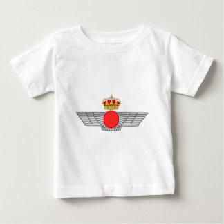 Del Aire de España del EL Ejército Playera Para Bebé