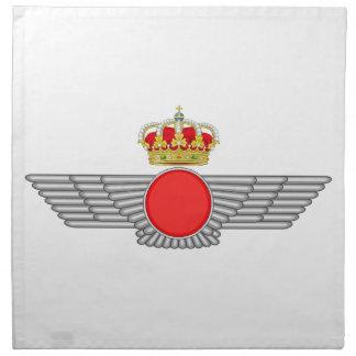 Del Aire de España del EL Ejército Servilletas Imprimidas