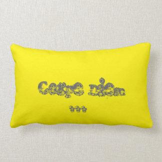 """Del """"almohada de la decoración diem del carpe"""" de cojín"""
