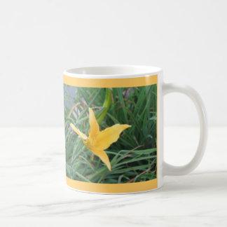 del amarillo taza lilly