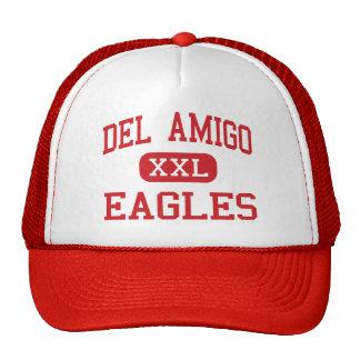 Del Amigo - Eagles - alto - Danville California Gorras