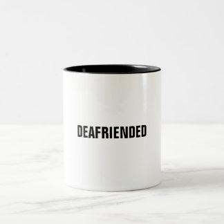 Del amigo una taza de café del jeroglífico de