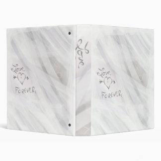 Del amor carpeta o cuaderno para siempre