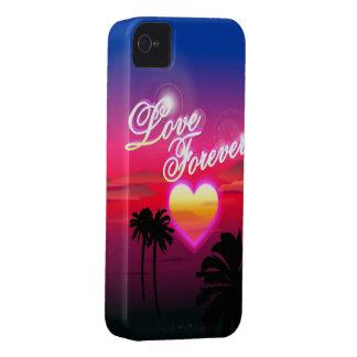 Del amor caso del iPhone 4 para siempre iPhone 4 Carcasa