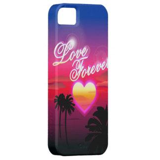 Del amor caso del iPhone 5 para siempre iPhone 5 Fundas