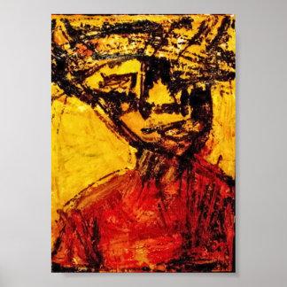 """Del """"arte africano DEL CARIBE de la diáspora HOMBR Impresiones"""