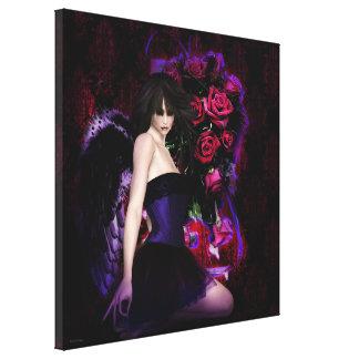 Del arte gótico de la fantasía de los chicas de la impresiones de lienzo
