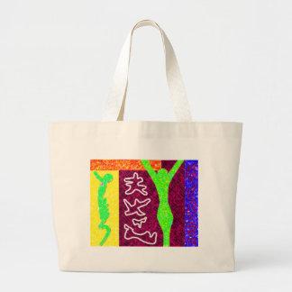 ~ del arte moderno del ~ del alma bolsa tela grande