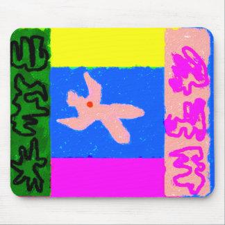 ~ del arte moderno del ~ del alma tapetes de ratón