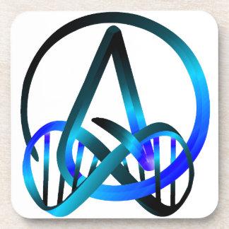 Del ateo azul para siempre posavasos