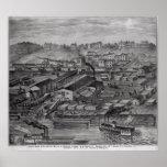 Del 'atlas ilustrado del Ohio superior Póster