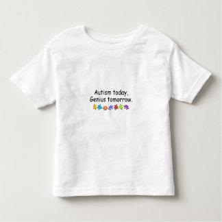 Del autismo genio hoy mañana remera