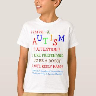 ¡Del autismo mordeduras a veces! Camiseta de Kidz Playeras