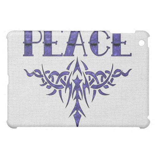 Del azul arte de la paz también