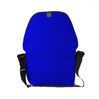 ~ del AZUL del CAPO del BEBÉ (color sólido) Bolsa De Mensajería