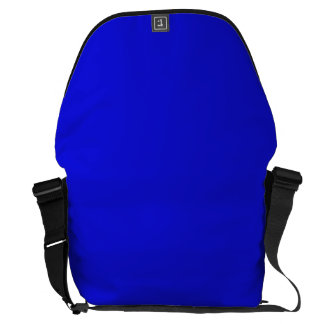 ~ del AZUL del CAPO del BEBÉ (color sólido) Bolsa Messenger