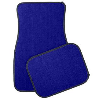 ~ del AZURITE (un color azul rico sólido) Alfombrilla De Auto