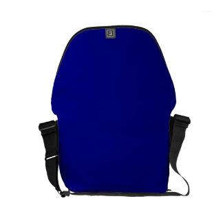 ~ del AZURITE (un color azul rico sólido) Bolsas De Mensajería