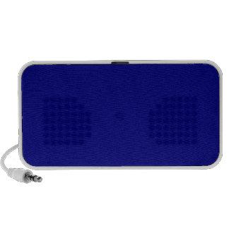 ~ del AZURITE (un color azul rico sólido) Laptop Altavoces