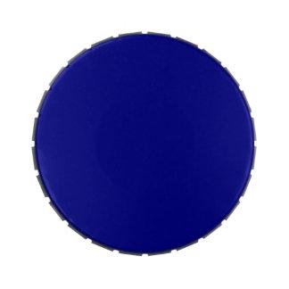 ~ del AZURITE (un color azul rico sólido) Latas De Caramelos
