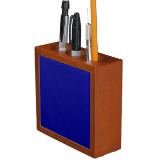 ~ del AZURITE (un color azul rico sólido) Portalápices