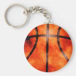 Del baloncesto estilo del Grunge todo el día Llavero