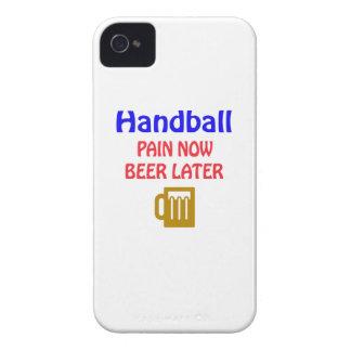 Del balonmano del dolor cerveza ahora más adelante iPhone 4 cárcasas